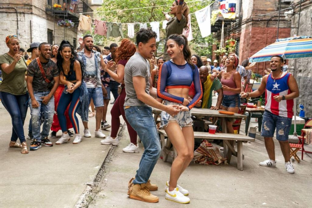 Anthony Ramos y Melissa Barrera, In The Heights